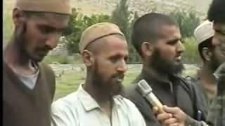 Captured Pakistani Taliban  & Army Personnel in  Afghanistan 1997 regret fighting Ahmad Shah Massoud