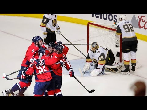 Kuznetsov's four assists has Capitals 1 win away from the Stanley Cup