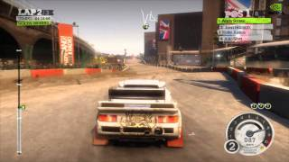 Dirt 2 PC on EVGA GTX 460 Directx 11 1080p Max Settings