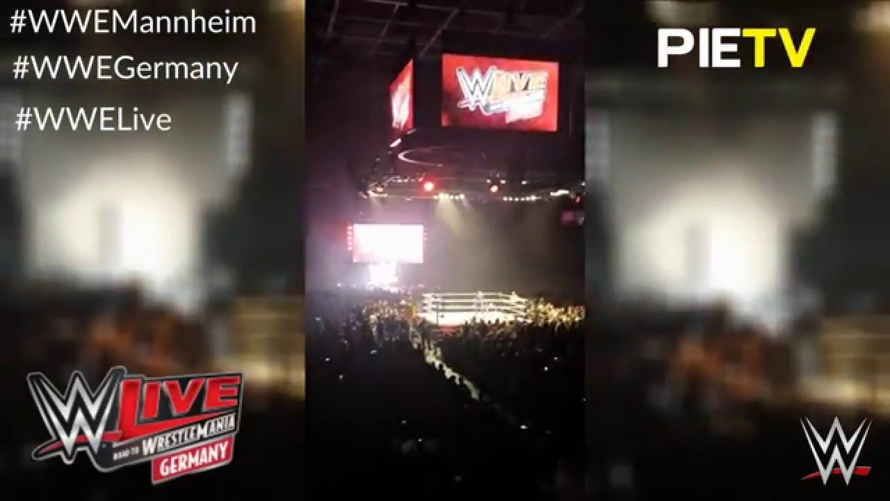 wwe live tour germany mannheim 2016 youtube. Black Bedroom Furniture Sets. Home Design Ideas