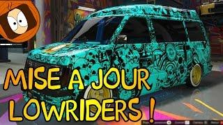 GTA ONLINE | TEST DE LA MISE À JOUR : LOWRIDERS !