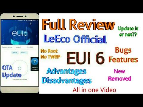 Eui 6.0.030s LeEco OTA Update | Full ReView of EUI 6.0.030s | Should you Update it or Not
