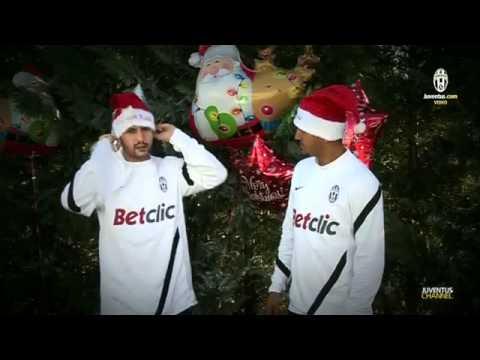 Auguri Di Natale Juventus.Gli Auguri Di Natale Dei Giocatori Della Juventus Youtube