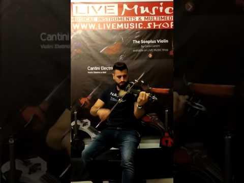 assad mattar playing elc violin sonplus - carlo cantini