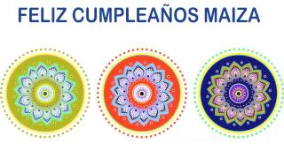 Maiza   Indian Designs - Happy Birthday