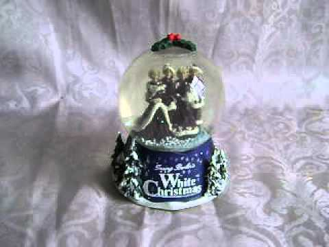 BING CROSBY~IRVING BERLIN'S WHITE CHRISTMAS~MUSICAL SNOW GLOBE~PARAMOUNT PICTURES MUSICAL~2000
