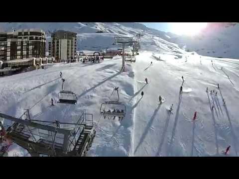 Tignes, France - Snowboarding & Skiing