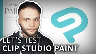 CLIP STUDIO PAINT FIRST LOOK - Clip Studio Paint Pro