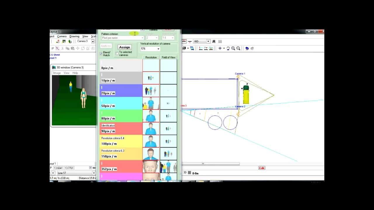 Designing A CCTV Layout Using CCTV Drawing Software