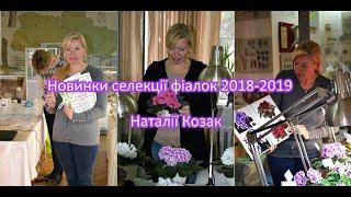 Презентація фіалок від Наталії Козак 2018-2019