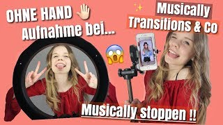 Ohne Hand Musically Aufnahme stoppen!! ✋🏻Musically Tutorial😳🙉//Looskanal