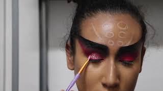Black Widow Makeup Tutorial - Simple Halloween Look