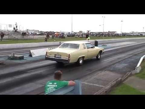RccVideo's 9 second Cadillac TRP Thompson Raceway Park Drag Caddy