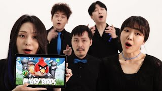 Angry Birds sound effect (acapella)