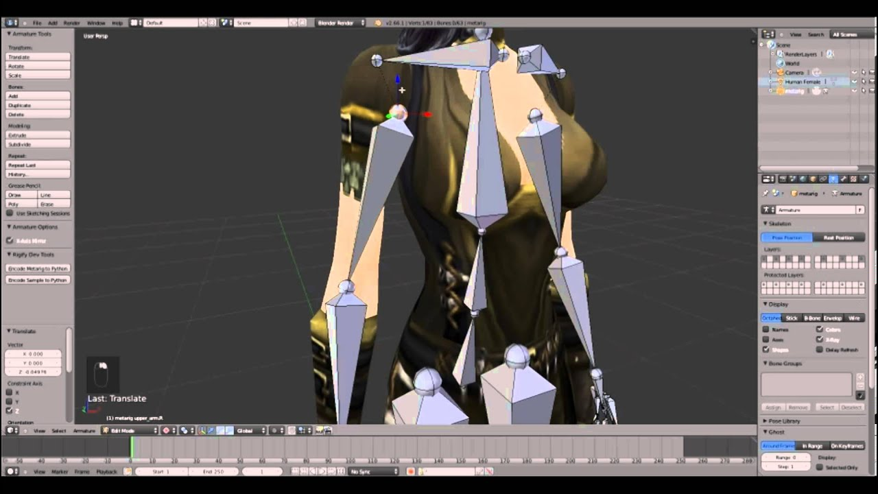 How to create your own custom animations for wow models 3d model editor