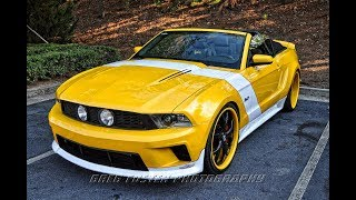 inside West Coast Customs - Darrells Mustang  HD