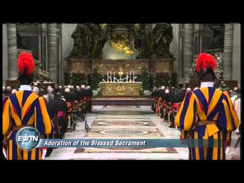 SOLEMN VESPERS FROM ST. PETER'S BASILICA  - 2013-03-06