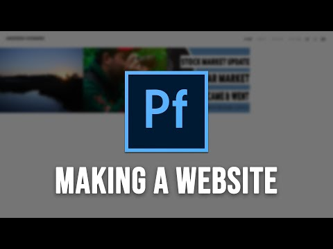 Make Your Website With Adobe Portfolio