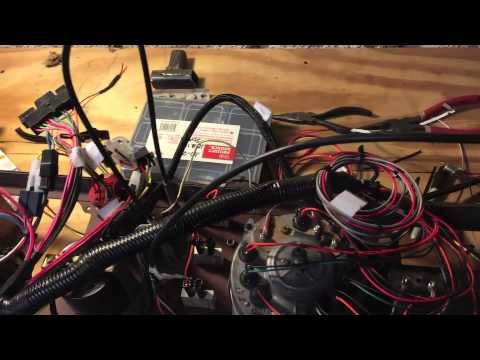 Wiring Harness For 1986 Jeep Cj7 : Rewire jeep youtube