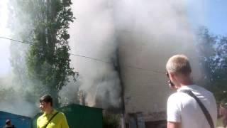 Пожар в жилом доме в Одессе на Ал.Невского 43.  17 мая 2017 год.