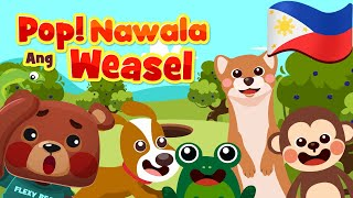Pop Goes the Weasel in Filipino | Philippines Kids Nursery Rhymes & Songs | Awiting Pambata