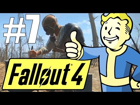 Fallout 4 Lets Play - Part 7 - Tenpines Bluff is Wild! (Survival Mode)