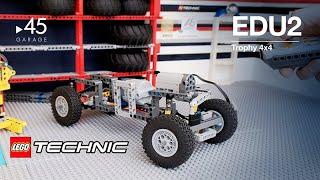 2 Как собрать самоделку из LEGO Technic