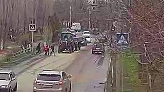 ДТП сбиты дети г Волжский школа 23 пешеходный переход 20 04 2018 14 00