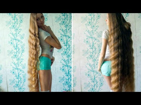 This Girls Is Rapunzel IN REAL LIFE | What's Trending Now