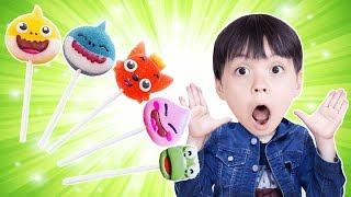 뽀로로 핑크퐁 초코렛 사탕 색깔놀이 동요 모음집 Learn color song Nursery Rhymes for kids! - 마슈토이 Mashu ToysReview