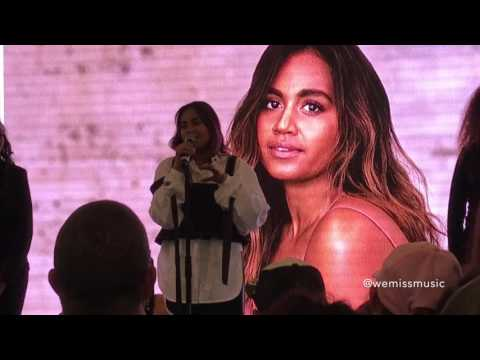 Jessica Mauboy - Flame Trees (snippet) & Fallin' (Live at Westpoint Blacktown 20/07/2017)
