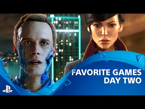 Detroit: Become Human, Dishonored 2 and More | Favorite Games from E3 2016 Day 2