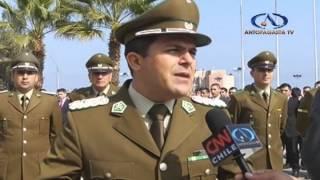 Bienvenida a nuevos carabineros alumnos / Antofagasta Televisión Noticias