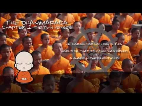 THE DHAMMAPADA - THE SAYINGS OF THE BUDDHA  -SECTION 1- AUDIOBOOK VISUAL HD 1080P