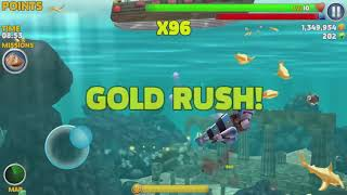 Game Android #1095 Hungry Shark Evolution Robo Shark Android Gameplay