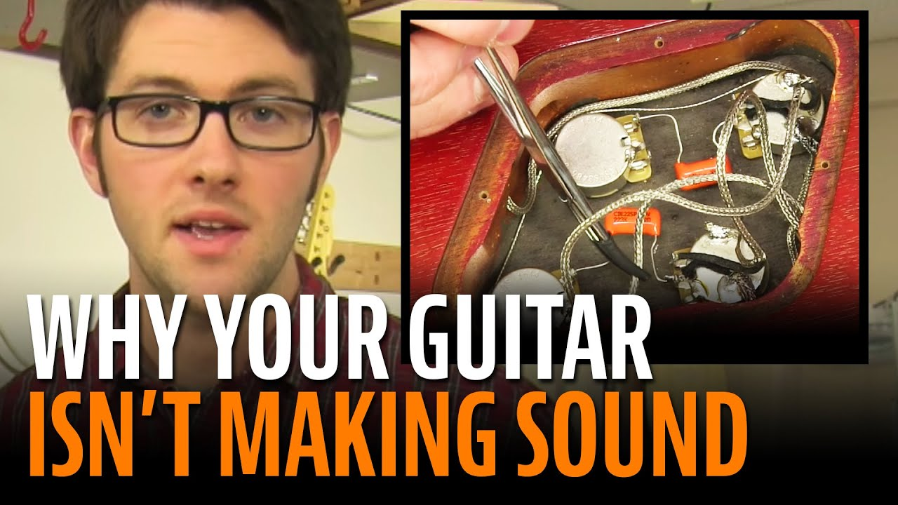 Yamaha Electric Guitar Wiring Diagram No Sound From Your Lets Figure It Out Youtube