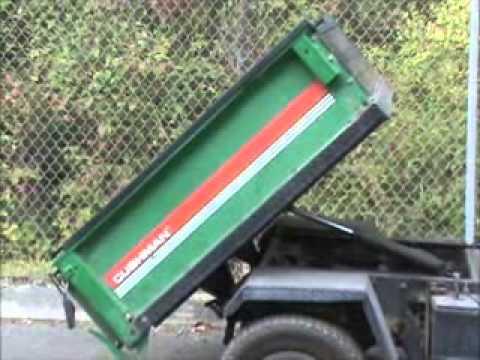 Sold! Cushman 4 Wheel Turf Truckster Utility Cart Dump Bed ...