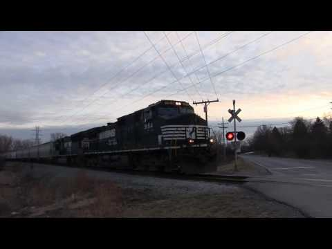 Norfolk Southern Power on the Ann Arbor Railroad!