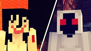 MOMO vs ENTITY 303 w Minecraft!