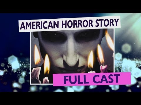 AMERICAN HORROR STORY - Complete Cast - Season 1-8