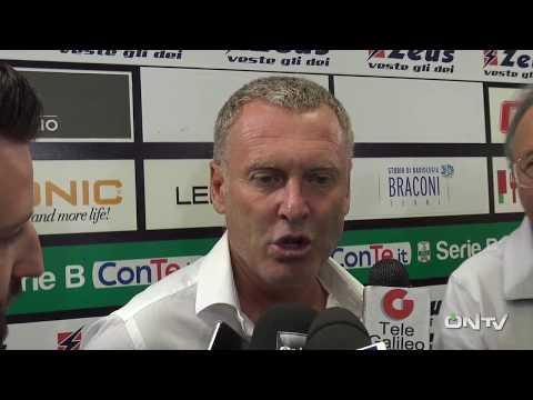 ONTV: Sandro Pochesci post Ternana - Partizani Tirana (3-1)