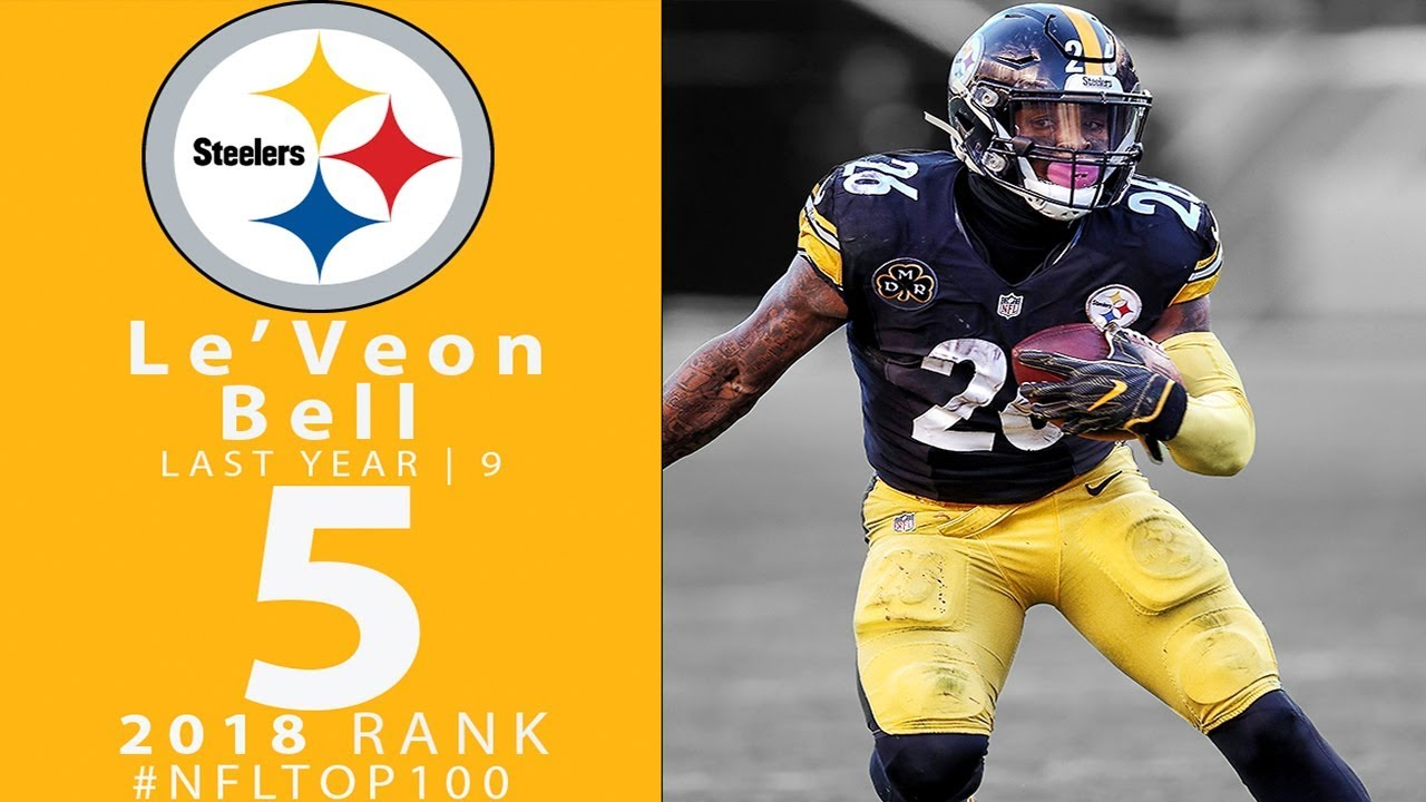 5 Leveon Bell Rb Steelers Top 100 Players Of 2018 Nfl