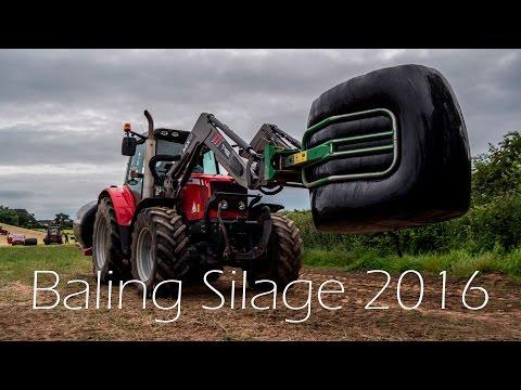 Baling Silage 2016 - Robert Thompson - 4K