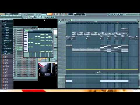 David Guetta - Little Bad Girl Instrumental (FL Studio 9 Remake with Lyrics)