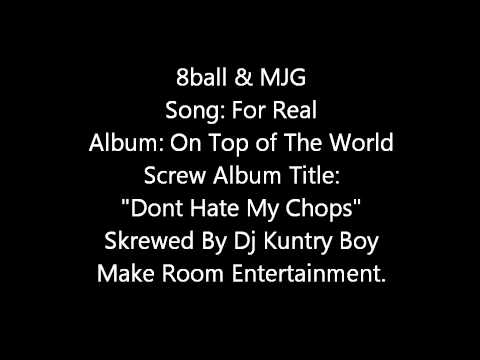 8Ball & MJG: For Real-Screwed