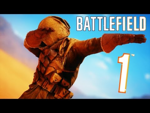 Thumbnail: Battlefield 1 - Random & Funny Moments #7 (How To Avoid Tanks, Hilarious Duels!)