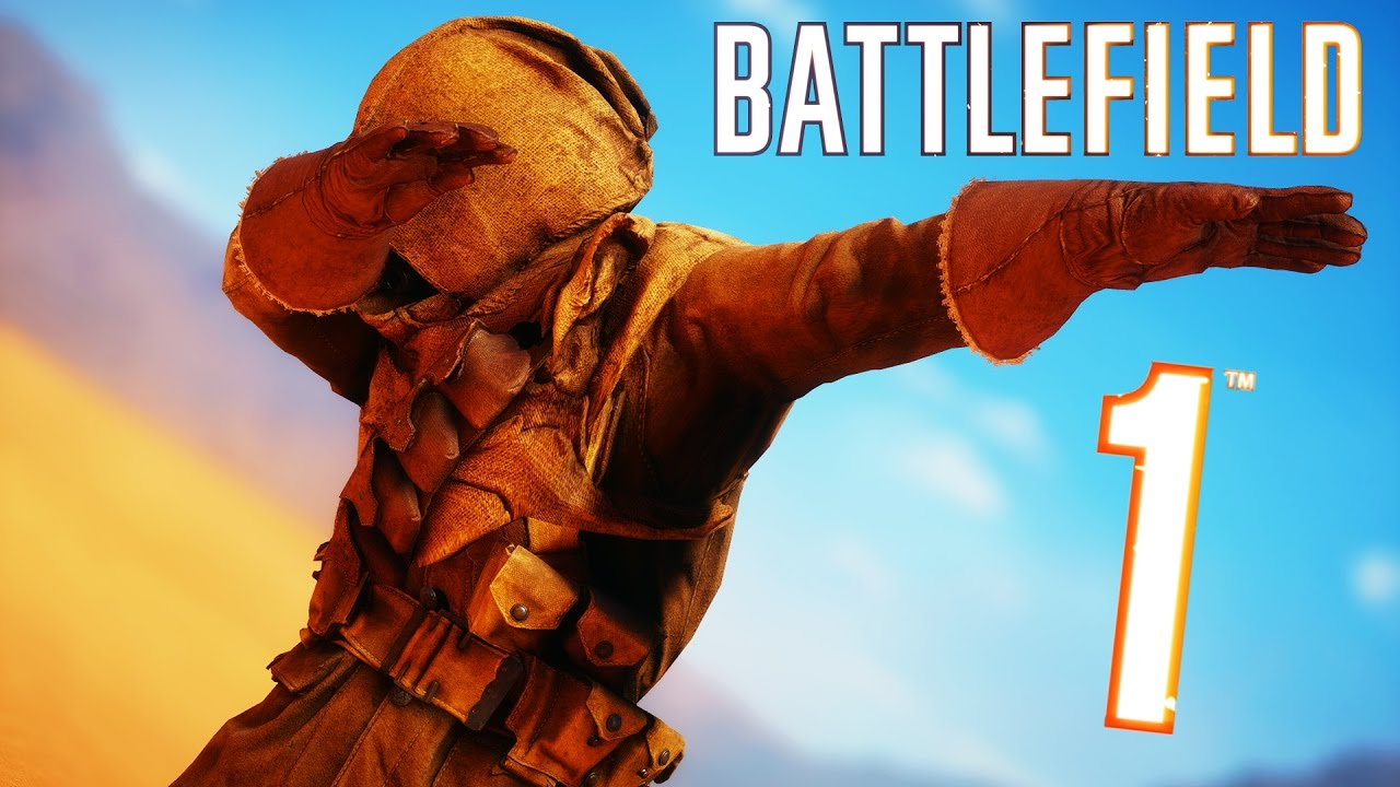 Battlefield 1   Random & Humorous Moments #7 (How To Keep away from Tanks, Hilarious Duels!)