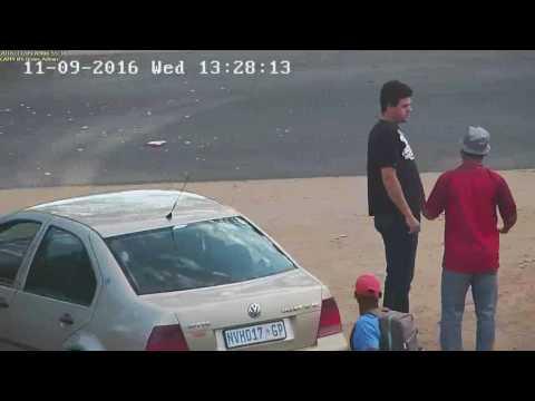 Shaun Gates Accident footage
