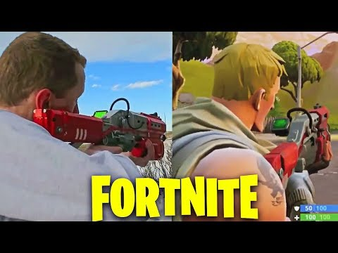 ARMAS DE FORTNITE EN LA VIDA REAL