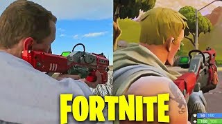 FORTNITE WEAPONS IN REAL LIFE
